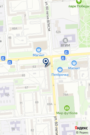 Контур Воронеж на карте Воронежа