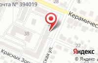 Схема проезда до компании Скэнар-Терапия в Воронеже