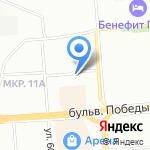 Сиена-Мед на карте Воронежа