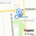 Дочки & Сыночки на карте Воронежа