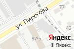 Схема проезда до компании У Мишани в Воронеже
