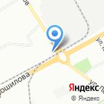 Юго-Западный на карте Воронежа