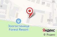 Схема проезда до компании Окна Град в Ямном