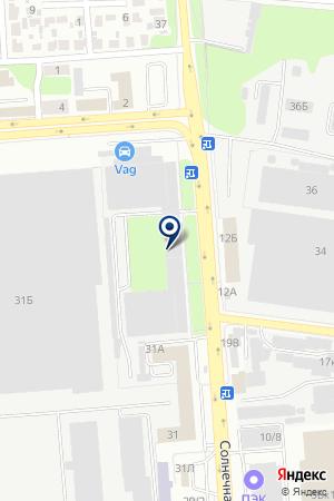 Реахим-Сервис на карте Воронежа