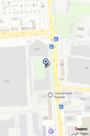 ПАЛ на карте Воронежа