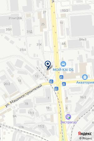 Твоя терраса на карте Воронежа