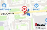 Схема проезда до компании Комета в Воронеже