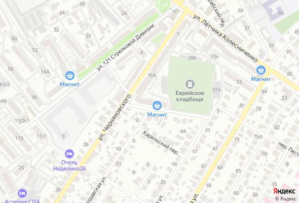 купить квартиру в ЖК ул. Черняховского - пер. Молдавский