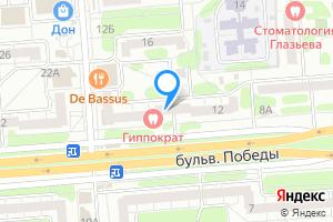 Однокомнатная квартира в Воронеже б-р Победы, 12