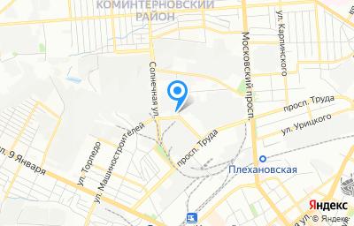 Местоположение на карте пункта техосмотра по адресу г Воронеж, ул Машиностроителей, д 2