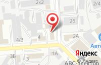 Схема проезда до компании Форпост в Воронеже