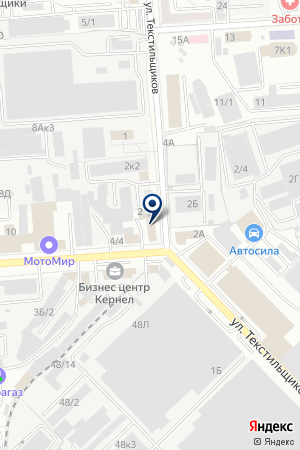 EKX001 на карте Воронежа