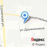 Сытный край на карте Воронежа