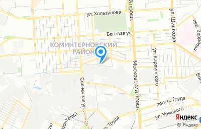 Местоположение на карте пункта техосмотра по адресу г Воронеж, ул Брянская, д 71А