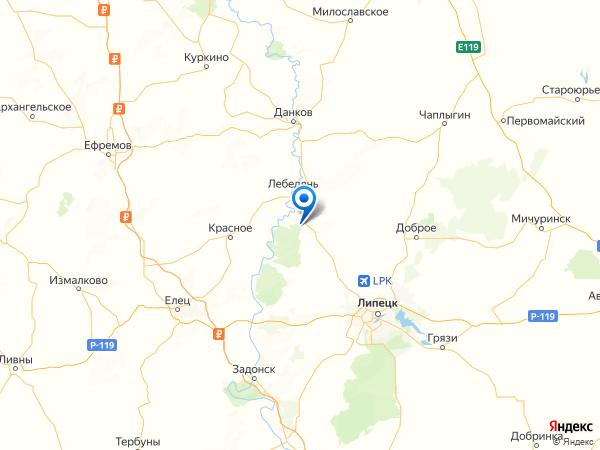 деревня Волотовские Дворики на карте