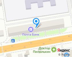 Схема местоположения почтового отделения 601120
