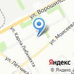 Экономсервис на карте Воронежа