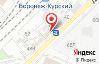 Схема проезда до компании Мир Прессы в Воронеже