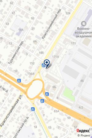 Почтовое отделение №52 на карте Воронежа