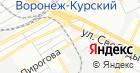 Продуктовый магазин на ул. Пирогова на карте