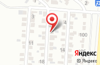 Схема проезда до компании Алвис в Воронеже