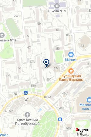 Стимул на карте Воронежа
