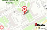 Схема проезда до компании Протэкс в Воронеже
