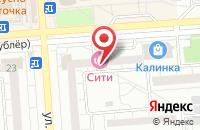 Схема проезда до компании KLeo в Воронеже