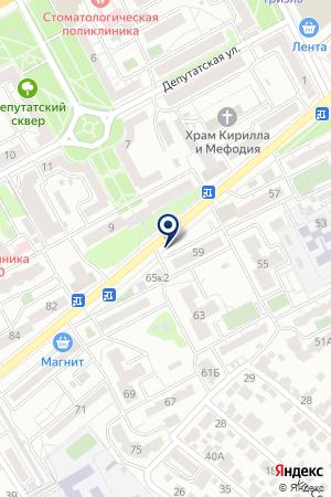 ЭкоХлеб на карте Воронежа