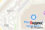 Схема проезда до компании Todes в Воронеже