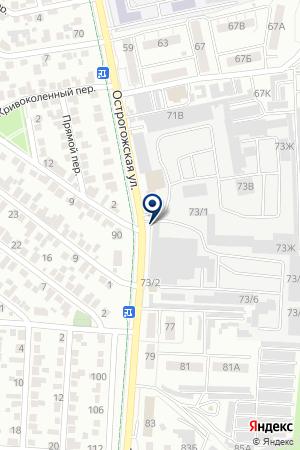 СПЕЦИАЛЬНЫЕ СТАЛИ на карте Воронежа