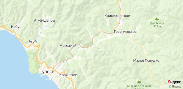 Греческий на карте