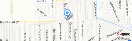 МЕГА экспресс на карте Краснодара