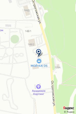Мой-ка! на карте Воронежа