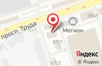 Схема проезда до компании Общественная палата Воронежской области в Воронеже