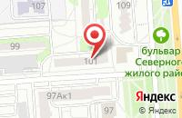 Схема проезда до компании Днепрстальсервис в Воронеже