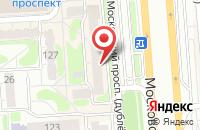Схема проезда до компании Оникс-2010 в Воронеже