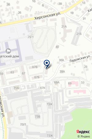 ПРОДОВОЛЬСТВЕННЫЙ МАГАЗИН ИРИС на карте Воронежа