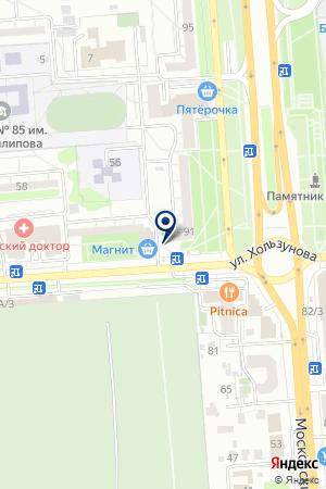 Медовая лавка на карте Воронежа