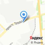 Мегион на карте Воронежа