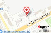 Схема проезда до компании Таир в Воронеже