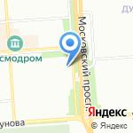 Участковый пункт полиции №11 на карте Воронежа