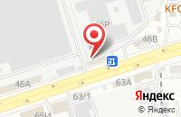 Схема проезда до компании Информсвязь в Воронеже