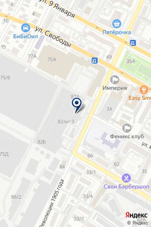 Автолитмаш на карте Воронежа