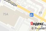 Схема проезда до компании Хорошее настроение в Воронеже