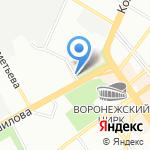 Партнер на карте Воронежа