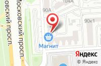 Схема проезда до компании Tower Club в Ярославле