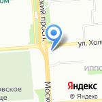 Белорусские кухни ЗОВ на карте Воронежа