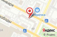 Схема проезда до компании Мэри в Воронеже