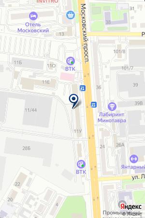 Lil Ballerine на карте Воронежа